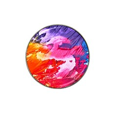 Abstract Art Background Paint Hat Clip Ball Marker