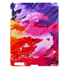 Abstract Art Background Paint Apple Ipad 3/4 Hardshell Case