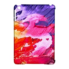 Abstract Art Background Paint Apple Ipad Mini Hardshell Case (compatible With Smart Cover)