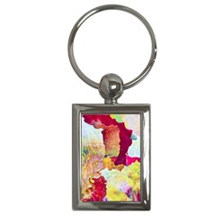 Art Detail Abstract Painting Wax Key Chains (rectangle)