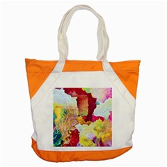 Art Detail Abstract Painting Wax Accent Tote Bag