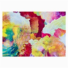 Art Detail Abstract Painting Wax Large Glasses Cloth (2 Side)