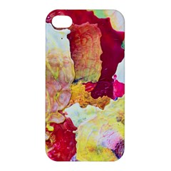 Art Detail Abstract Painting Wax Apple Iphone 4/4s Premium Hardshell Case