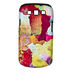Art Detail Abstract Painting Wax Samsung Galaxy S Iii Classic Hardshell Case (pc+silicone)