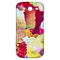 Art Detail Abstract Painting Wax Samsung Galaxy S3 S Iii Classic Hardshell Back Case