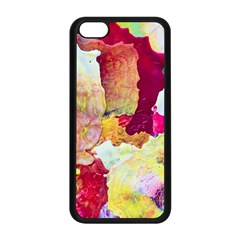 Art Detail Abstract Painting Wax Apple Iphone 5c Seamless Case (black)