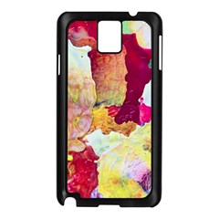 Art Detail Abstract Painting Wax Samsung Galaxy Note 3 N9005 Case (black)