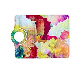 Art Detail Abstract Painting Wax Kindle Fire Hd (2013) Flip 360 Case