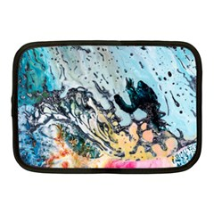 Abstract Structure Background Wax Netbook Case (medium)