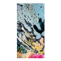 Abstract Structure Background Wax Shower Curtain 36  X 72  (stall)