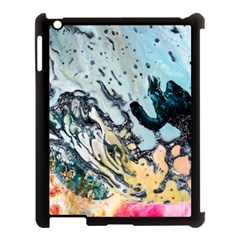 Abstract Structure Background Wax Apple Ipad 3/4 Case (black)