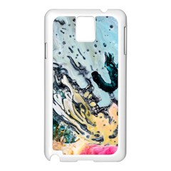Abstract Structure Background Wax Samsung Galaxy Note 3 N9005 Case (white)