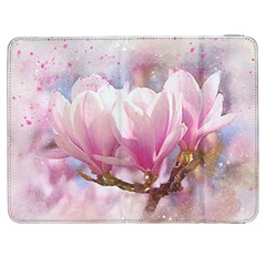 Flowers Magnolia Art Abstract Samsung Galaxy Tab 7  P1000 Flip Case