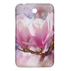 Flowers Magnolia Art Abstract Samsung Galaxy Tab 3 (7 ) P3200 Hardshell Case