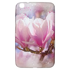 Flowers Magnolia Art Abstract Samsung Galaxy Tab 3 (8 ) T3100 Hardshell Case