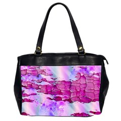 Background Crack Art Abstract Office Handbags (2 Sides)