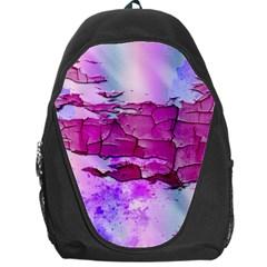 Background Crack Art Abstract Backpack Bag