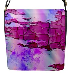 Background Crack Art Abstract Flap Messenger Bag (s)