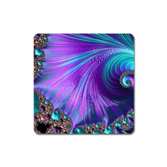 Abstract Fractal Fractal Structures Square Magnet