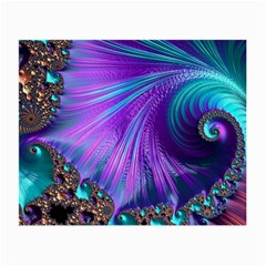 Abstract Fractal Fractal Structures Small Glasses Cloth