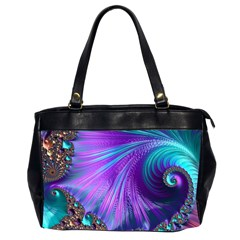 Abstract Fractal Fractal Structures Office Handbags (2 Sides)