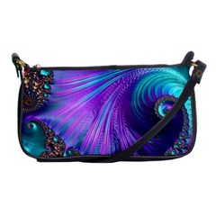 Abstract Fractal Fractal Structures Shoulder Clutch Bags