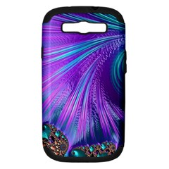 Abstract Fractal Fractal Structures Samsung Galaxy S Iii Hardshell Case (pc+silicone)