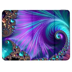 Abstract Fractal Fractal Structures Samsung Galaxy Tab 7  P1000 Flip Case