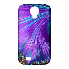 Abstract Fractal Fractal Structures Samsung Galaxy S4 Classic Hardshell Case (pc+silicone)