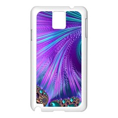 Abstract Fractal Fractal Structures Samsung Galaxy Note 3 N9005 Case (white)