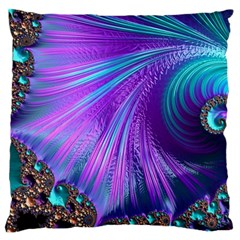 Abstract Fractal Fractal Structures Standard Flano Cushion Case (one Side)