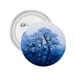 Nature Inspiration Trees Blue 2 25  Buttons