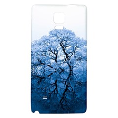 Nature Inspiration Trees Blue Galaxy Note 4 Back Case