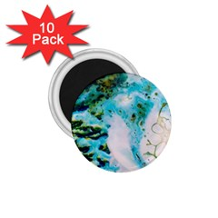 Abstract Art Modern Detail Macro 1 75  Magnets (10 Pack)