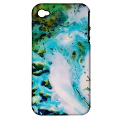 Abstract Art Modern Detail Macro Apple Iphone 4/4s Hardshell Case (pc+silicone)