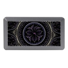 Fractal Abstract Purple Majesty Memory Card Reader (mini)