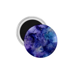 Ink Background Swirl Blue Purple 1 75  Magnets