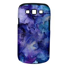 Ink Background Swirl Blue Purple Samsung Galaxy S Iii Classic Hardshell Case (pc+silicone)