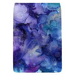 Ink Background Swirl Blue Purple Flap Covers (s)