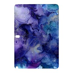 Ink Background Swirl Blue Purple Samsung Galaxy Tab Pro 10 1 Hardshell Case