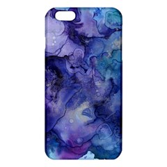 Ink Background Swirl Blue Purple Iphone 6 Plus/6s Plus Tpu Case