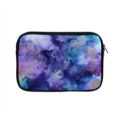 Ink Background Swirl Blue Purple Apple Macbook Pro 15  Zipper Case