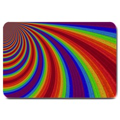 Abstract Pattern Lines Wave Large Doormat