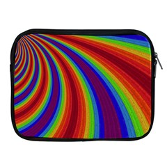 Abstract Pattern Lines Wave Apple Ipad 2/3/4 Zipper Cases