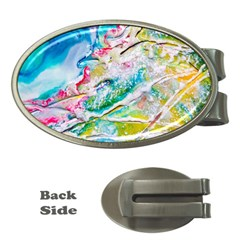 Art Abstract Abstract Art Money Clips (oval)