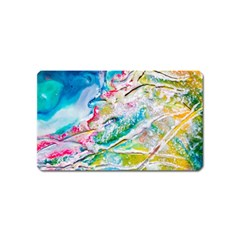 Art Abstract Abstract Art Magnet (name Card)