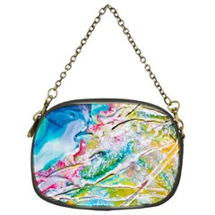 Art Abstract Abstract Art Chain Purses (two Sides)