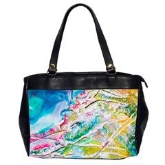 Art Abstract Abstract Art Office Handbags (2 Sides)