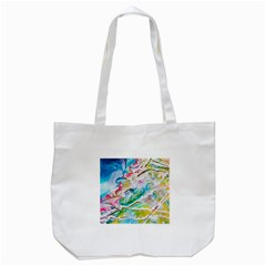 Art Abstract Abstract Art Tote Bag (white)