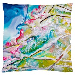 Art Abstract Abstract Art Large Flano Cushion Case (two Sides)